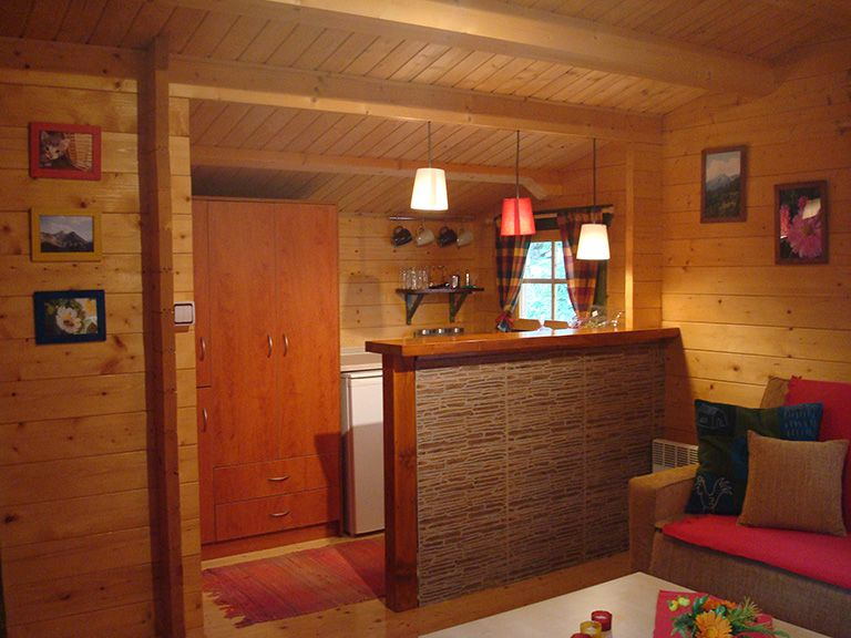 Wildlife Chalet Kitchenette