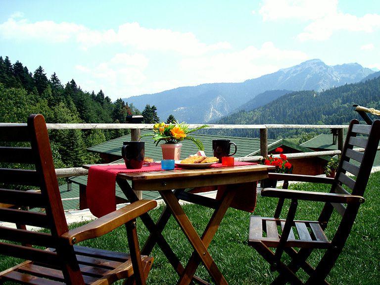 Breakfast in nature