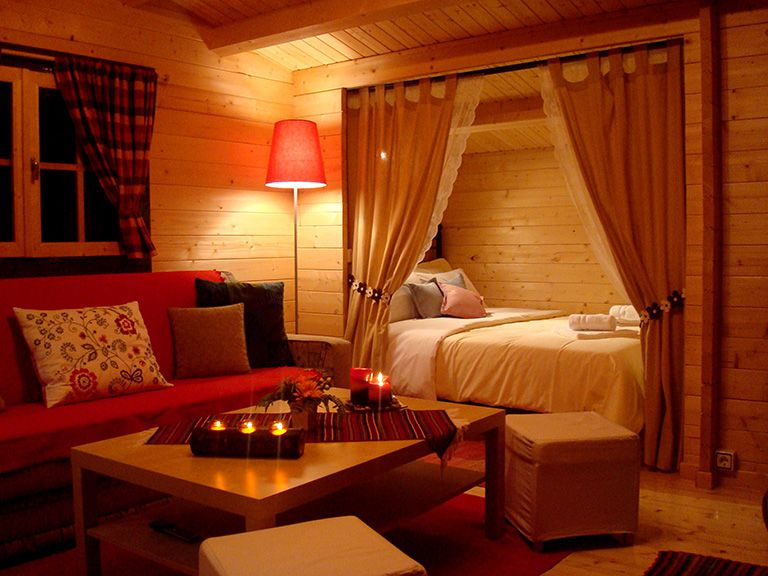 Wildlife Chalet Bedroom