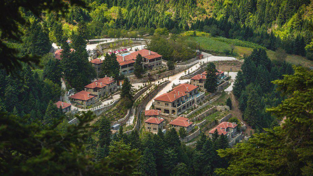 View of Montanema Handmade Village