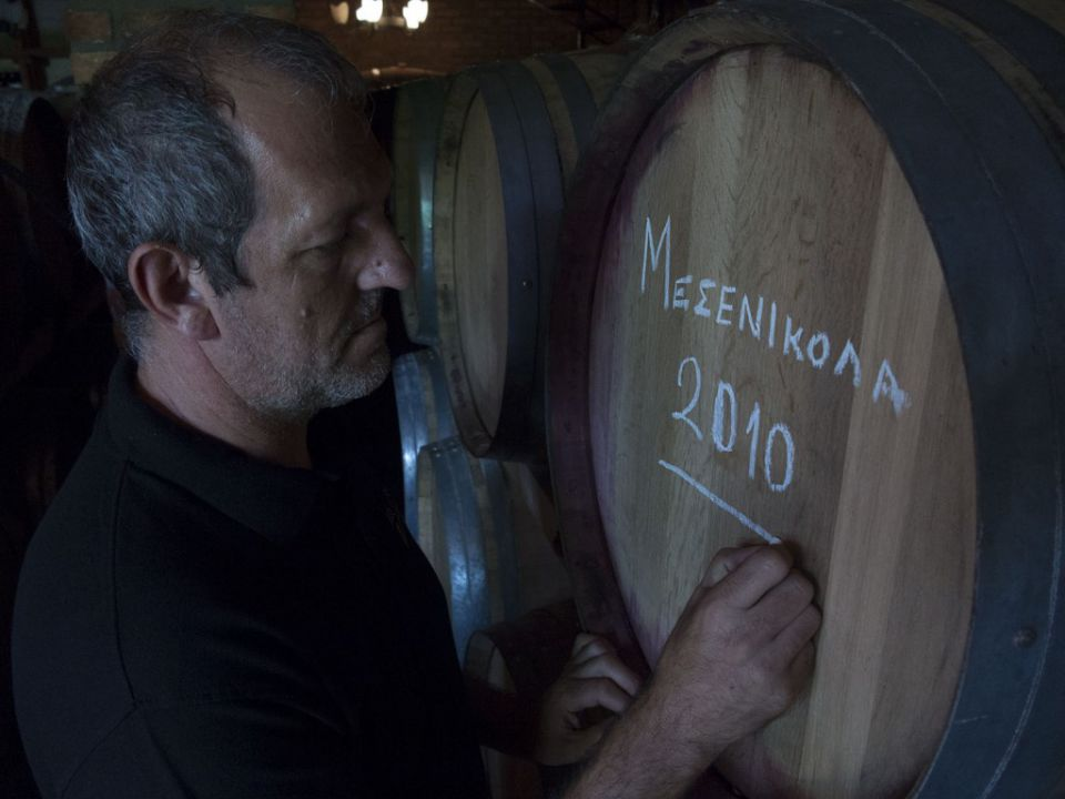 Karamitros on the project of winemaking