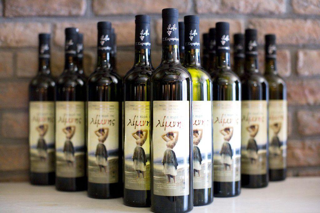 I Kyra Limni wine variety