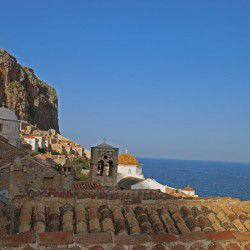 photo of view  to monemvasia, One Million Words, travel & discover mysterious Greece