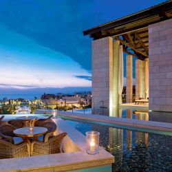 photo of anax lounge lobby romanos, Resorts & Villas, travel & discover mysterious Greece