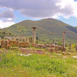photo of ancient  messene, One Million Words, travel & discover mysterious Greece