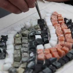 Mosaic Making © Costa Navarino