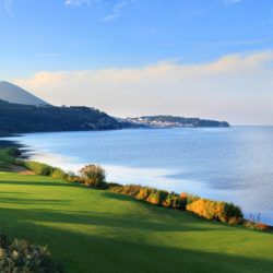 Panoramic View || The Bay Course © Costa Navarino