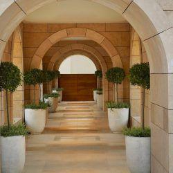 photo of the westin resort costa navarino anazoe spa entrance, Resorts & Villas, travel & discover mysterious Greece