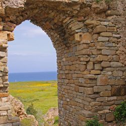 photo of view  from koroni castle, One Million Words, travel & discover mysterious Greece