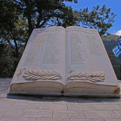 photo of monument for the greek revolution of One Million Words, travel & discover mysterious Greece