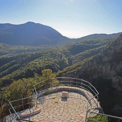 photo of view point to lousios  gorge, One Million Words, travel & discover mysterious Greece