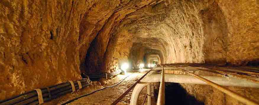 efpalinium tunnel