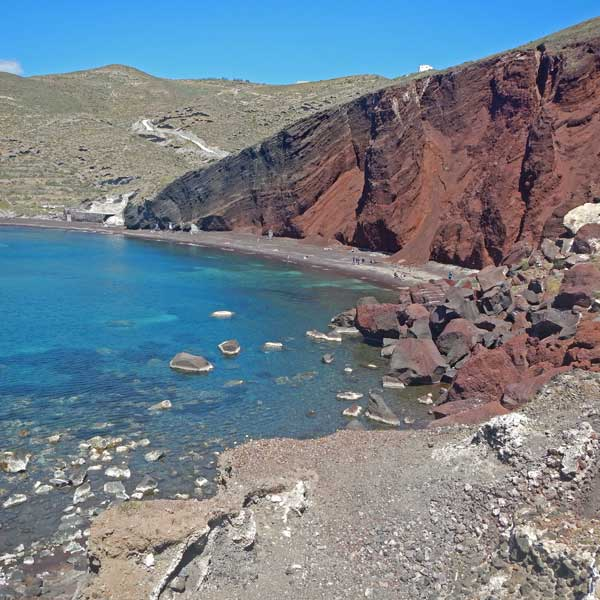 photo of red  beach, Reasons Why You Should Visit Santorini This Fall, travel & discover mysterious Greece