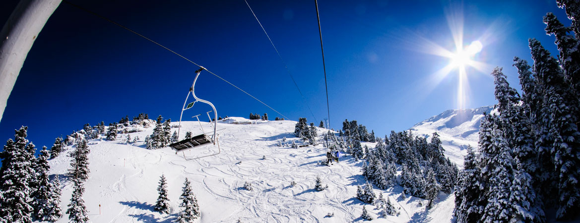 Greek destinations skiing