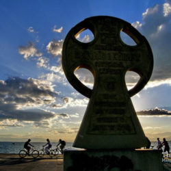 photo of cyril  and  methodius column, Thessaloniki, travel & discover mysterious Greece