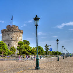 photo of white tower, Thessaloniki, travel & discover mysterious Greece