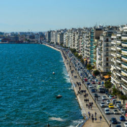 photo of aerial  view  of thessaloniki, Thessaloniki, travel & discover mysterious Greece