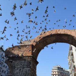 photo of arch of galerius, Thessaloniki, travel & discover mysterious Greece