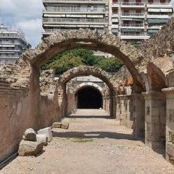 photo of roman agora, Thessaloniki, travel & discover mysterious Greece