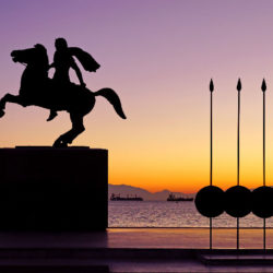 photo of statue of alex and er the great, Thessaloniki, travel & discover mysterious Greece
