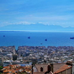 photo of view  from the walls, Thessaloniki, travel & discover mysterious Greece