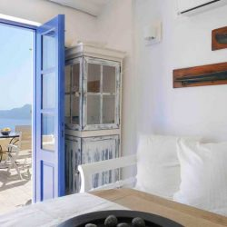 photo of living room ilivatos villa, Ilivatos Villa: On the edge of the Caldera, travel & discover mysterious Greece
