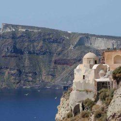 photo of oia caste, Ilivatos Villa: On the edge of the Caldera, travel & discover mysterious Greece