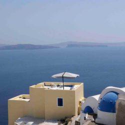 photo of the villa, Ilivatos Villa: On the edge of the Caldera, travel & discover mysterious Greece