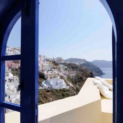 photo of view  from ilivatos villa, Ilivatos Villa: On the edge of the Caldera, travel & discover mysterious Greece